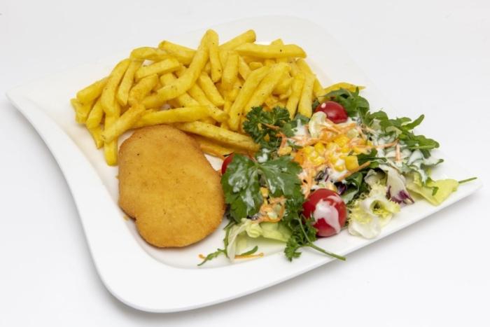 Poulet Cordon bleu (hausgemacht) mit Schinken, Emmentaler Käse