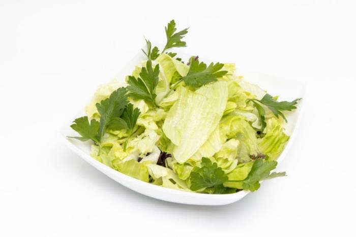 Grüner Blattsalat
