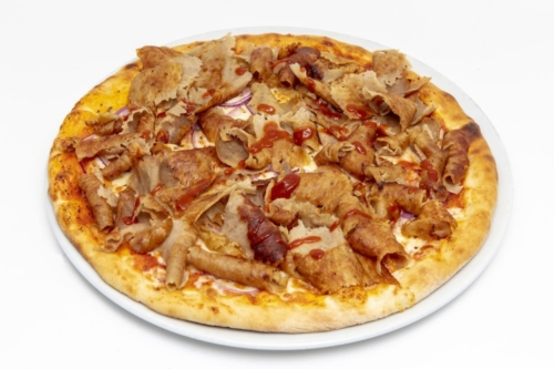 Pizza Dönerfleisch